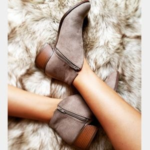 Shoes - 📣LAST PAIR//The Cheyenne// Taupe cut out bootie